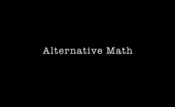¿Matemática Alternativa?